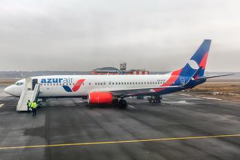 VQ-BJK - AzurAir Boeing 737-800