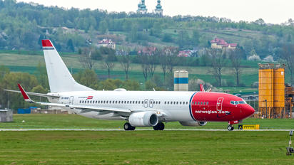 LN-NHB - Norwegian Air Shuttle Boeing 737-800