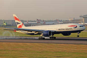 G-ZZZC - British Airways Boeing 777-200