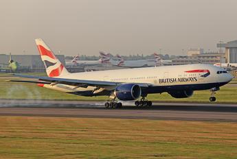 G-ZZZC - British Airways Boeing 777-200