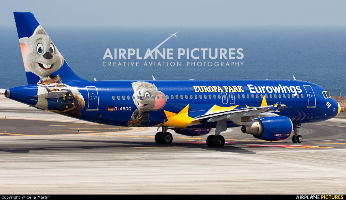 Eurowings D-ABDQ aircraft at Tenerife Sur - Reina Sofia