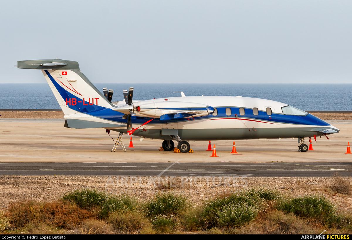 Private HB-LUT aircraft at Fuerteventura - Puerto del Rosario