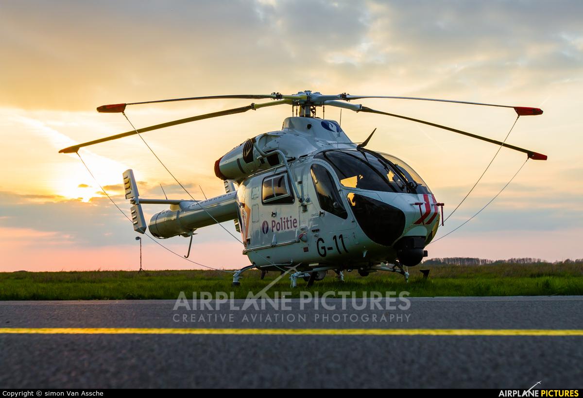 Belgium - Police G-11 aircraft at Beauvechain