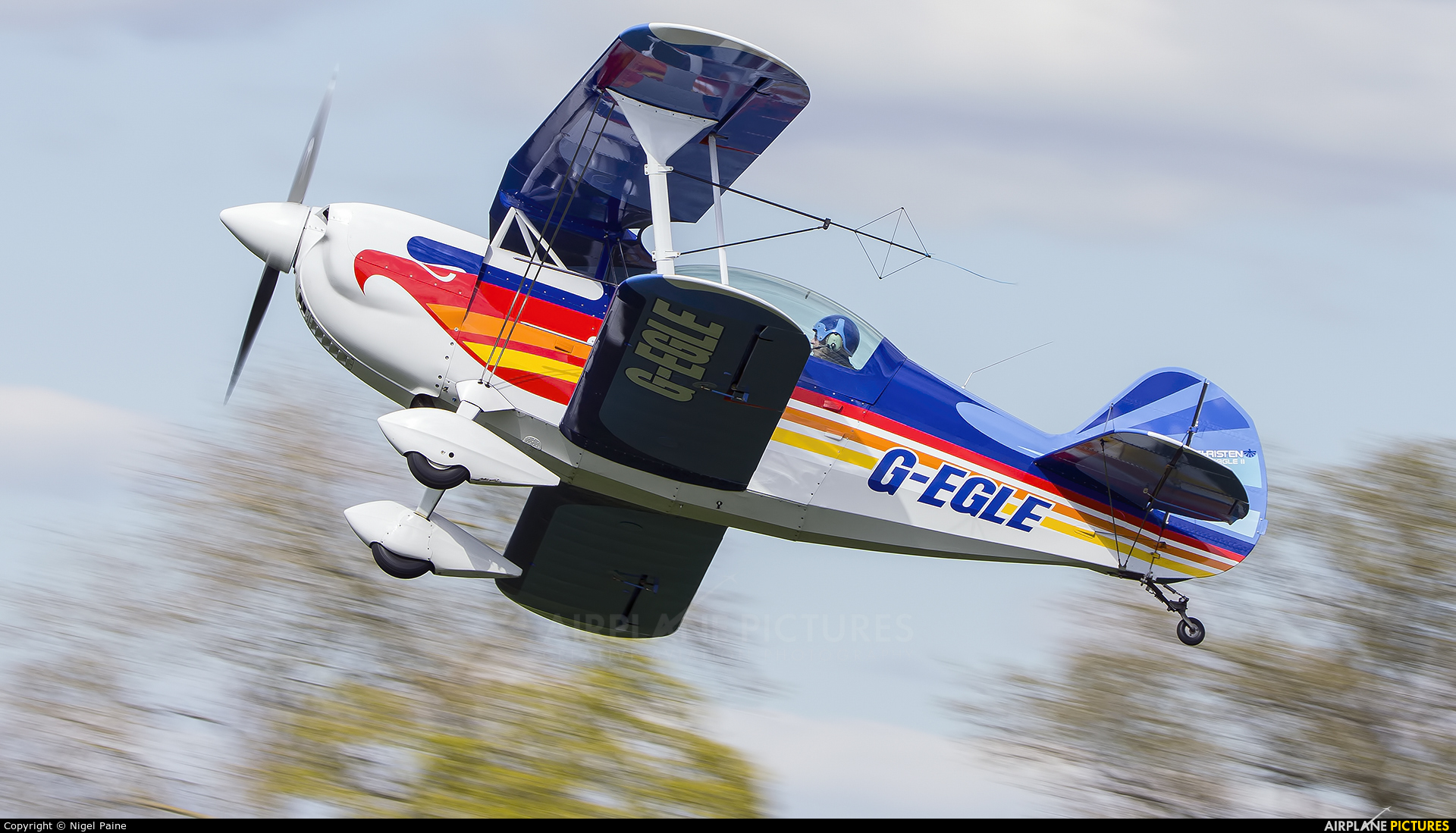 Private G-EGLE aircraft at Lashenden / Headcorn