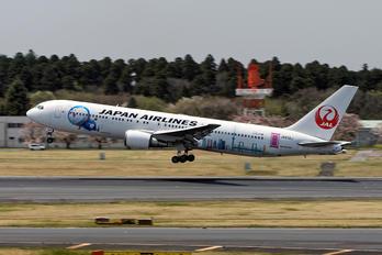 JA610J - JAL - Japan Airlines Boeing 767-300ER