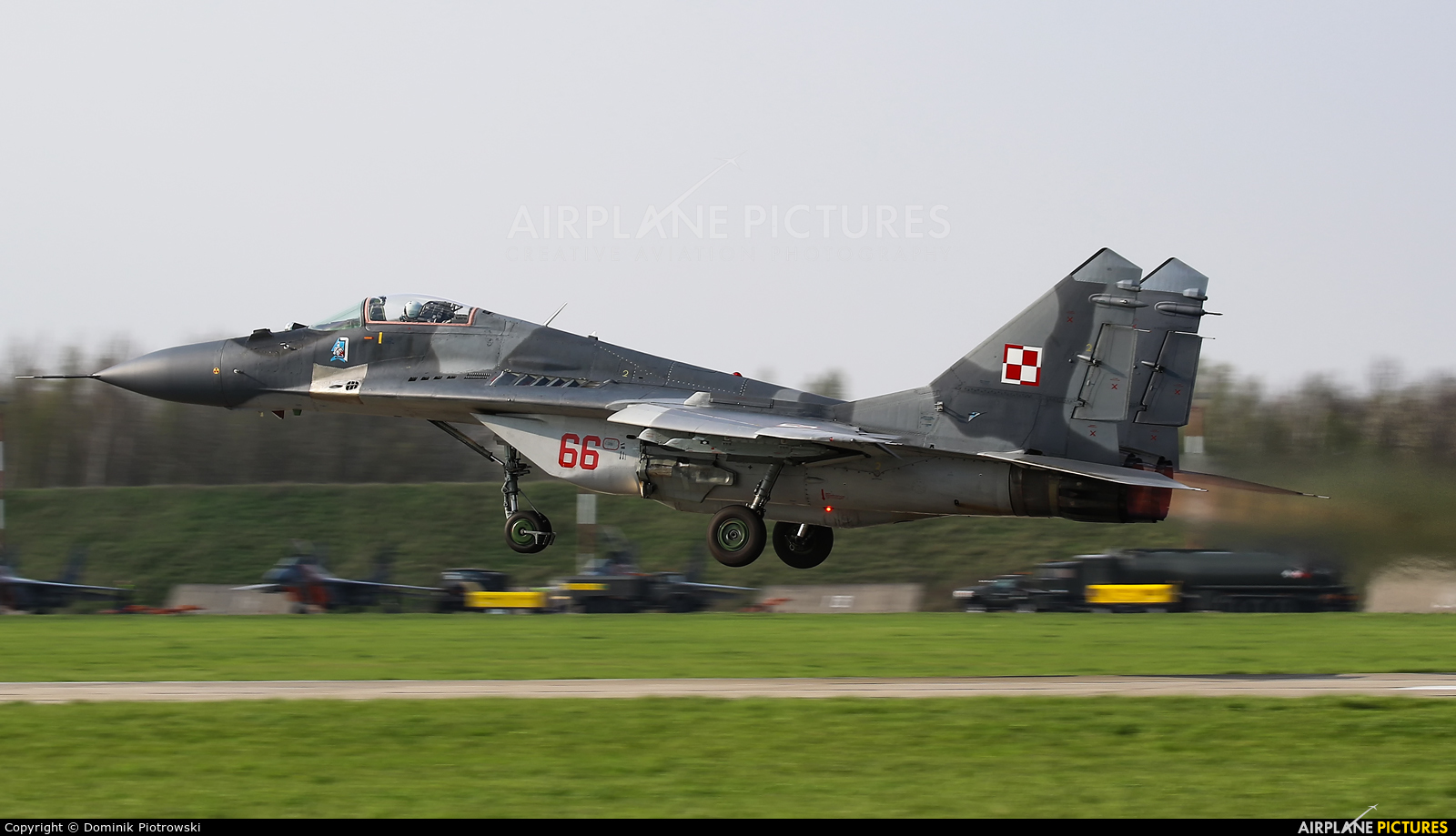 Poland - Air Force 66 aircraft at Malbork