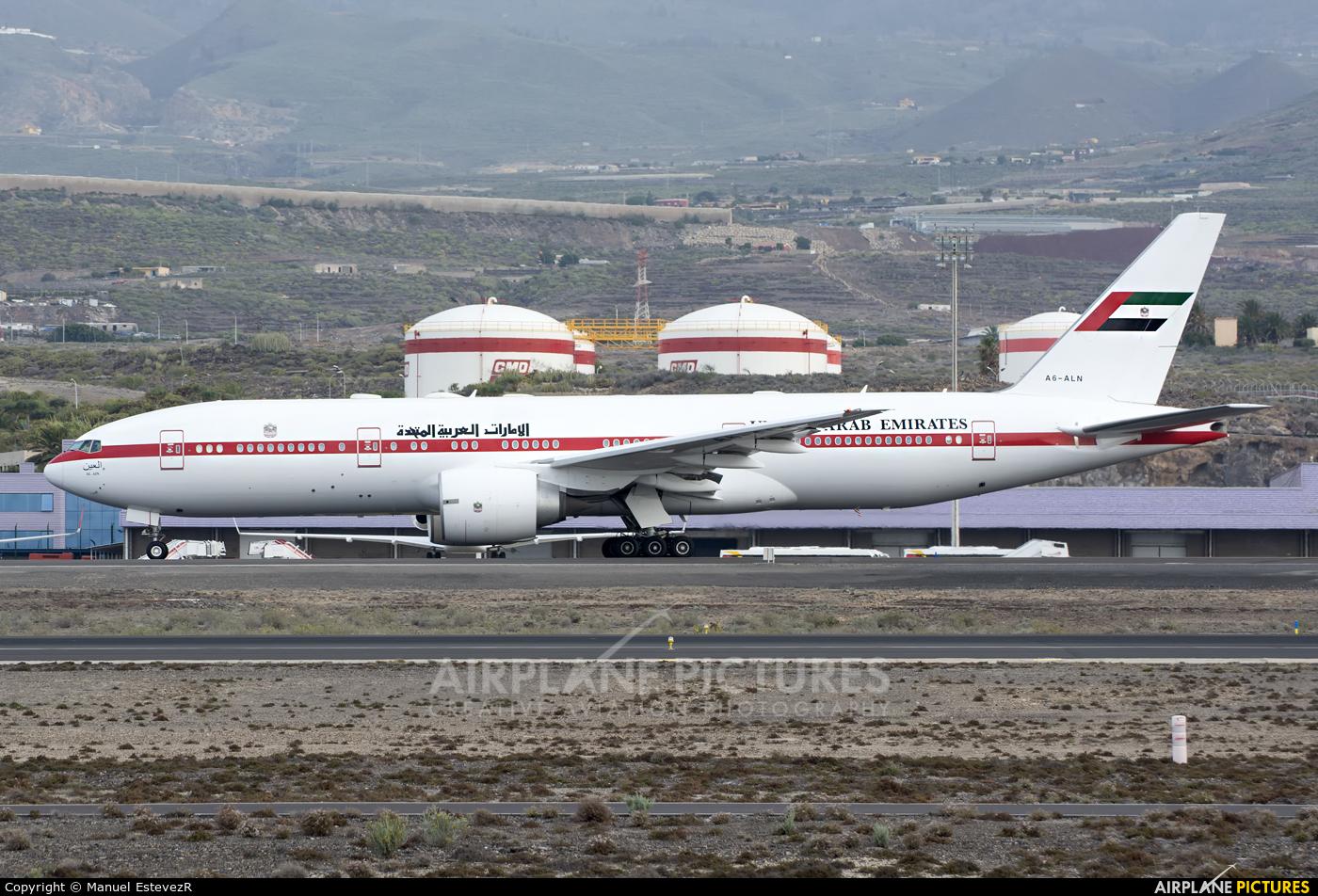 United Arab Emirates - Government A6-ALN aircraft at Tenerife Sur - Reina Sofia