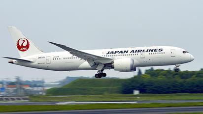JA823J - JAL - Japan Airlines Boeing 767-300ER