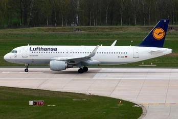 D-AIUC - Lufthansa Airbus A320