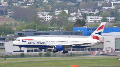 G-BNWX - British Airways Boeing 767-300