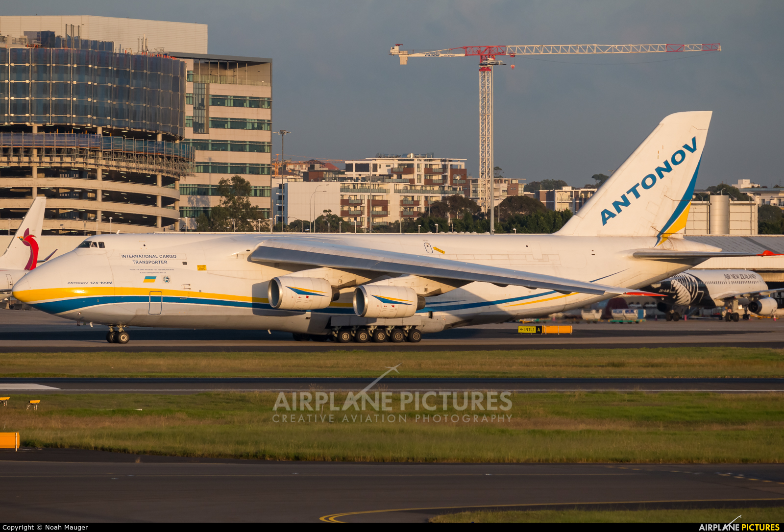 Antonov Airlines /  Design Bureau UR-82008 aircraft at Sydney - Kingsford Smith Intl, NSW