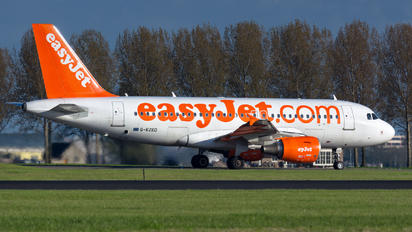 G-EZED - easyJet Airbus A319
