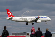 TC-JRH - Turkish Airlines Airbus A321 aircraft
