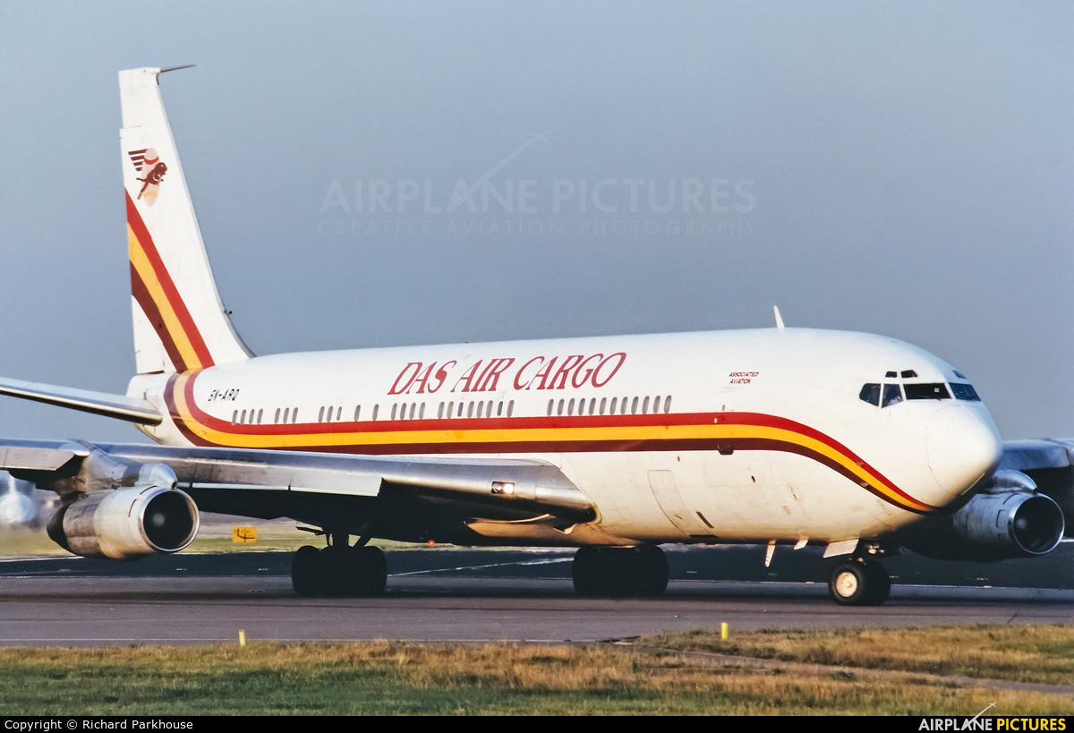 DAS Air Cargo 5N-ARQ aircraft at London - Gatwick