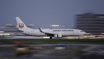 JA311J - JAL - Japan Airlines Boeing 737-800 aircraft