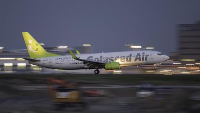 JA807X - Solaseed Air - Skynet Asia Airways Boeing 737-800
