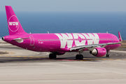 TF-JOY - WOW Air Airbus A321 aircraft