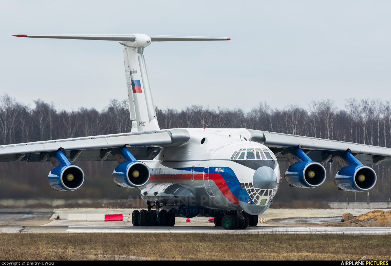 Russia - Ministry of Internal Affairs RF-76803 aircraft at Undisclosed Location