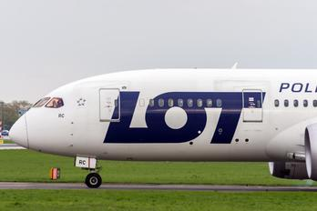 SP-LRC - LOT - Polish Airlines Boeing 787-8 Dreamliner