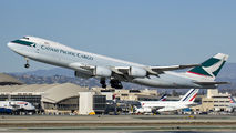 B-LJK - Cathay Pacific Cargo Boeing 747-8F aircraft