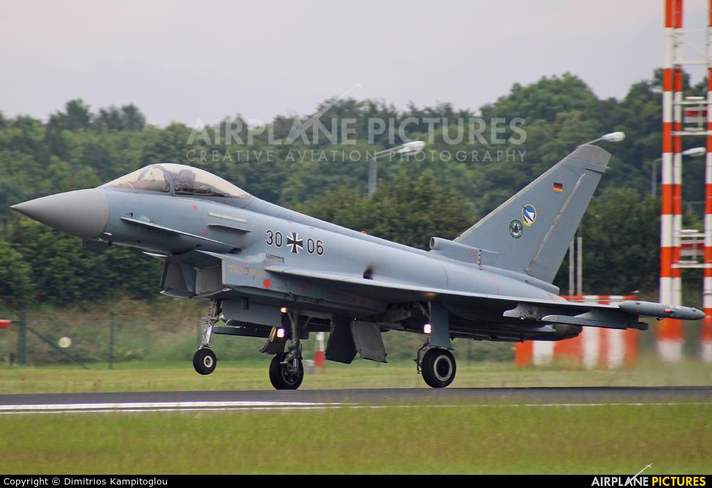 Germany - Air Force 30+06 aircraft at Neuburg - Zell
