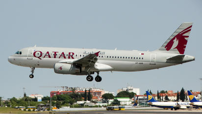 A7-AHR - Qatar Airways Airbus A320
