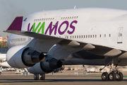 EC-KQC - Wamos Air Boeing 747-400 aircraft