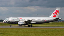Rare visit of Niki A320 to Dublin title=