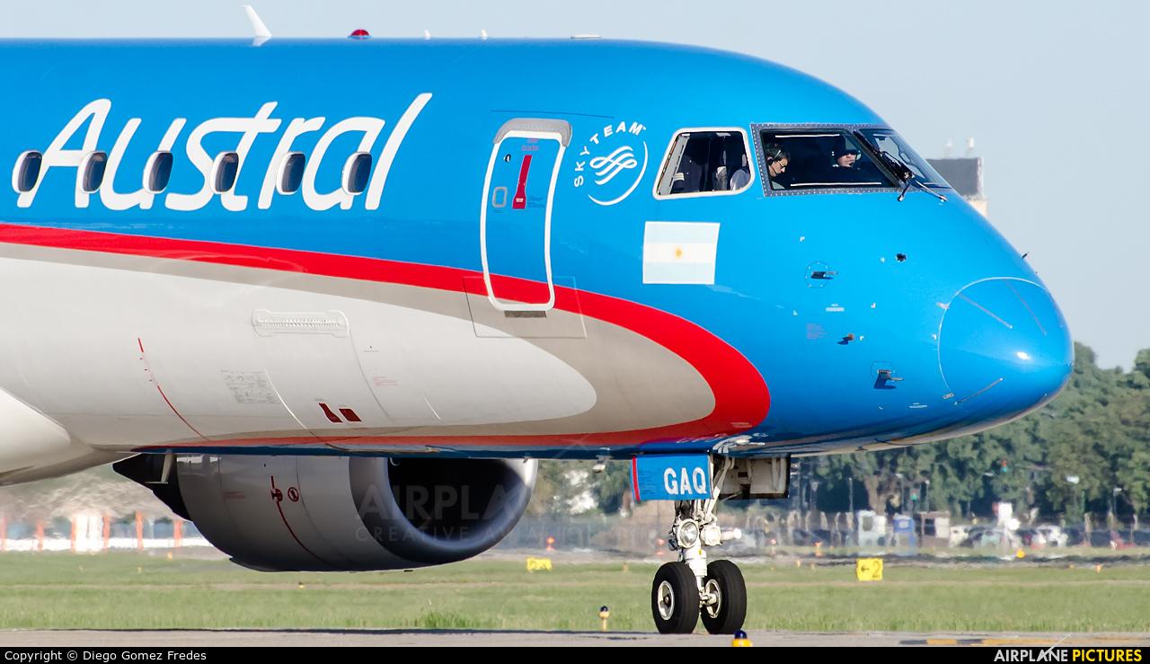 Austral Lineas Aereas LV-GAQ aircraft at Buenos Aires - Jorge Newbery