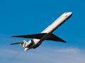 Bulgarian Air Charter McDonnell Douglas MD-82 LZ-LDN at Santiago de Compostela airport