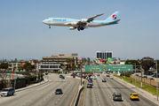 HL7630 - Korean Air Boeing 747-8 aircraft