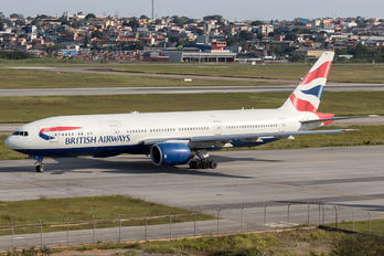 G-YMMP - British Airways Boeing 777-200