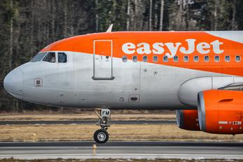 G-EZFM - easyJet Airbus A319