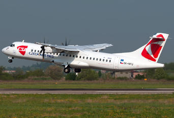 OK-NFU - CSA - Czech Airlines ATR 72 (all models)