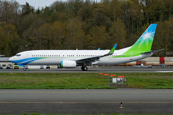 N801XA - Saudi Aramco Aviation Boeing 737-800 BBJ