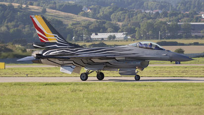 FA-123 - Belgium - Air Force General Dynamics F-16A Fighting Falcon