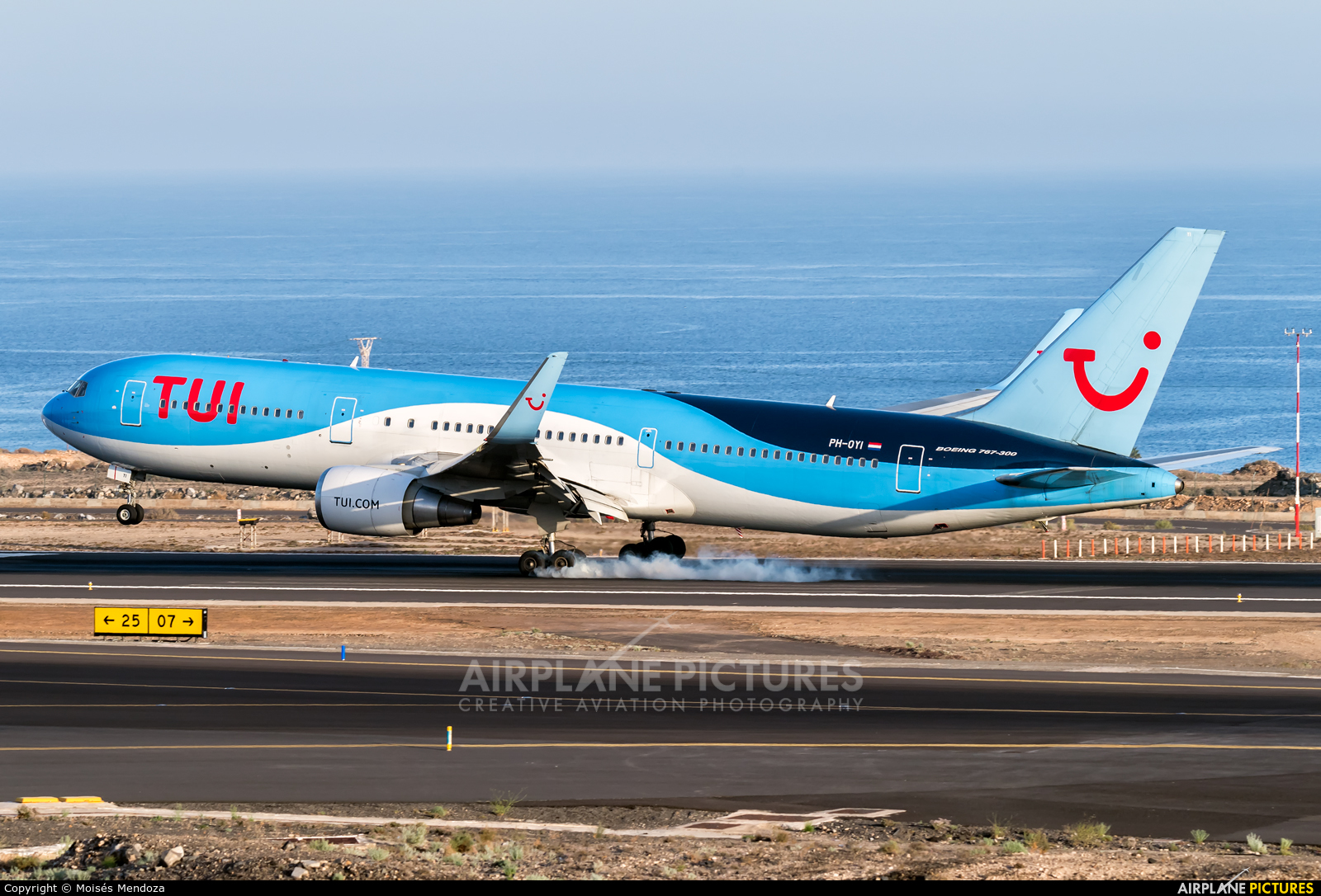 TUI Airlines Netherlands PH-OYI aircraft at Tenerife Sur - Reina Sofia
