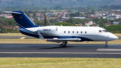 N100LR - Private Canadair CL-600 Challenger 600 series