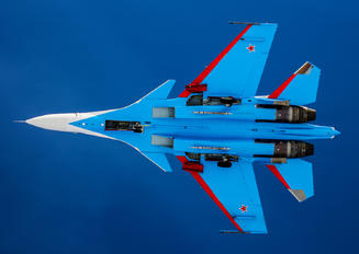 "34 BLUE - Russia - Air Force ""Russian Knights"" Sukhoi Su-30SM"