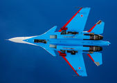 "34 BLUE - Russia - Air Force ""Russian Knights"" Sukhoi Su-30SM aircraft"