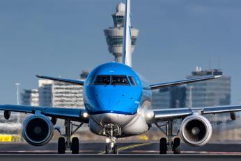 PH-EXM - KLM Embraer ERJ-175 (170-200)
