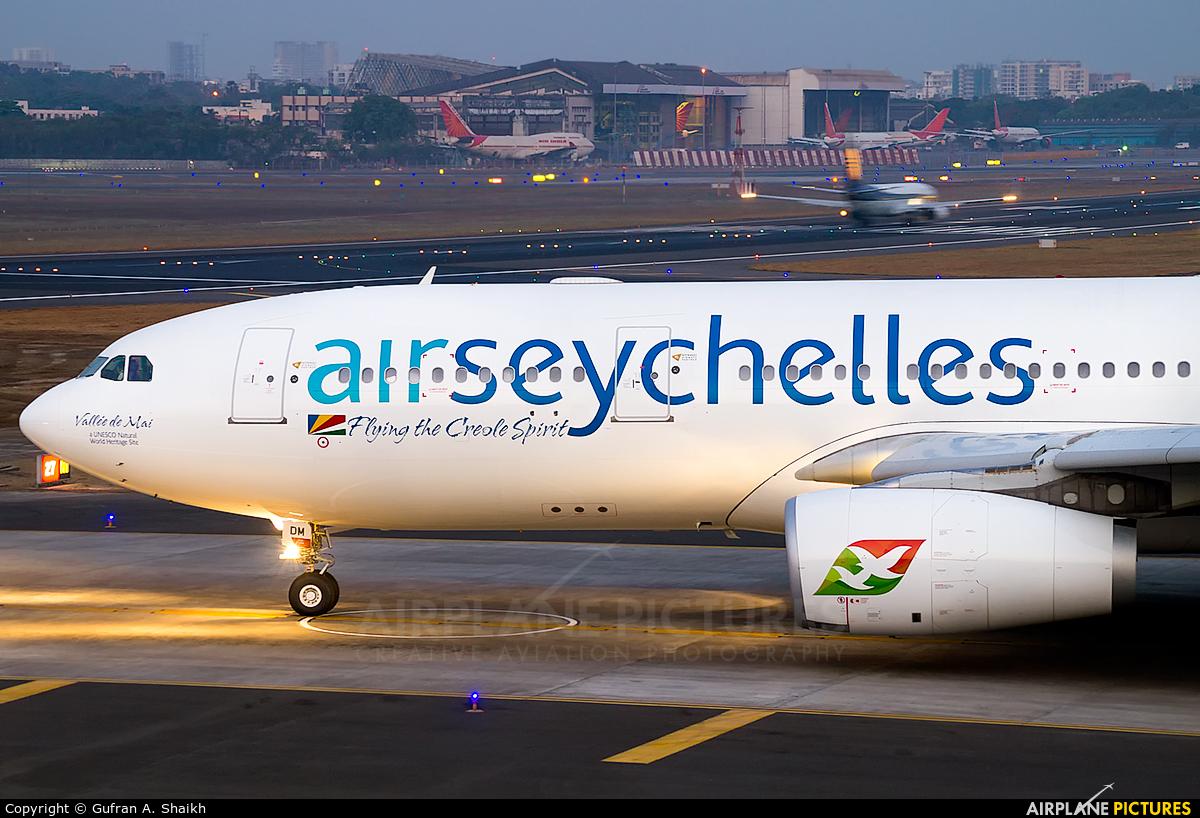Air Seychelles S7-VDM aircraft at Mumbai - Chhatrapati Shivaji Intl