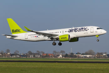 YL-CSC - Air Baltic Bombardier CS300