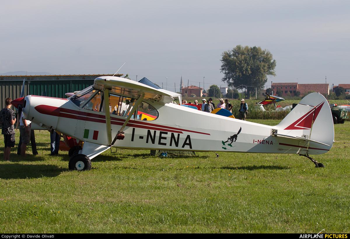 Private I-NENA aircraft at Montagnana
