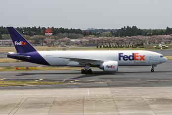 N857FD - FedEx Federal Express Boeing 777F