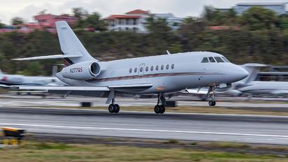 N277QS - Netjets (USA) Dassault Falcon 2000