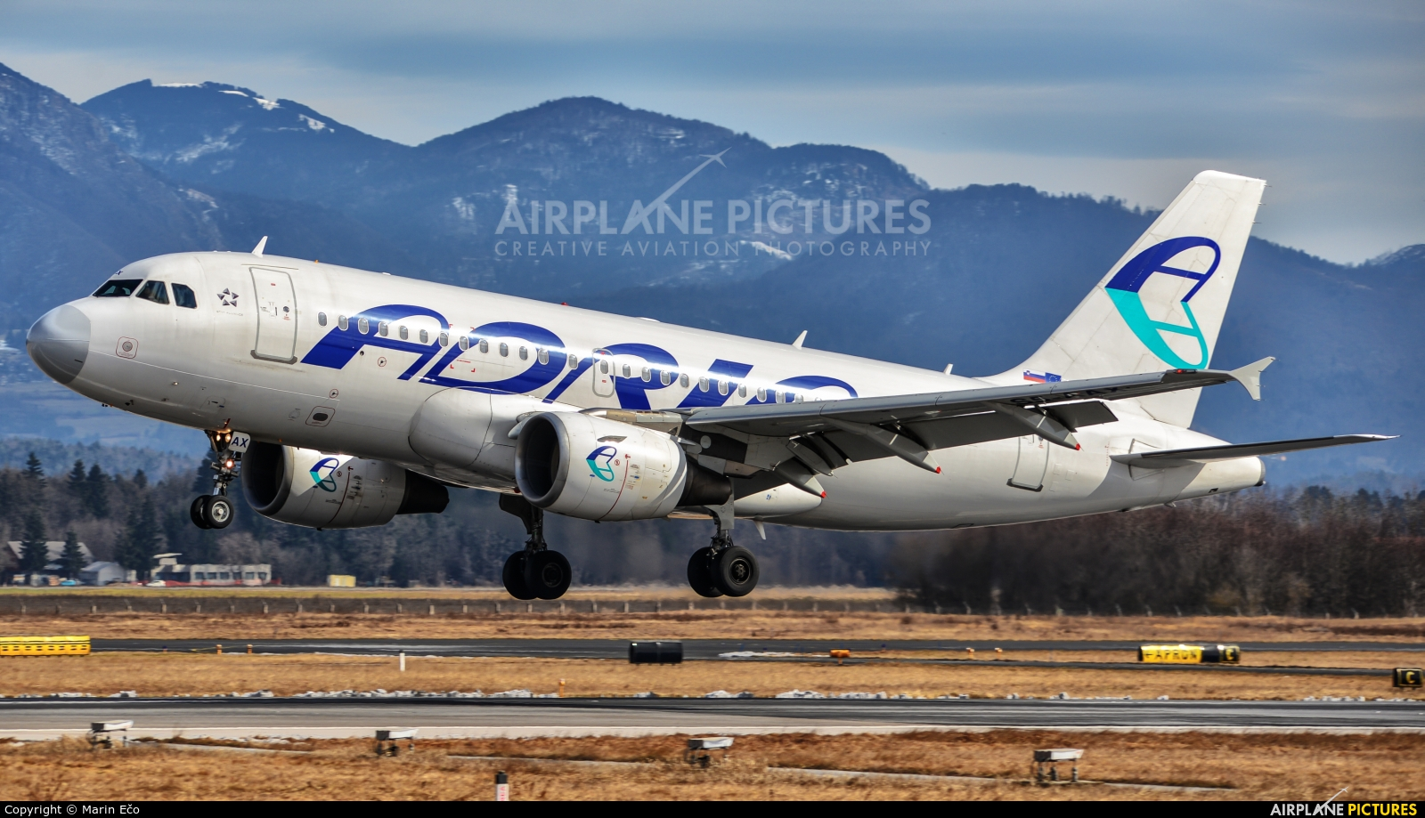 Adria Airways S5-AAX aircraft at Ljubljana - Brnik