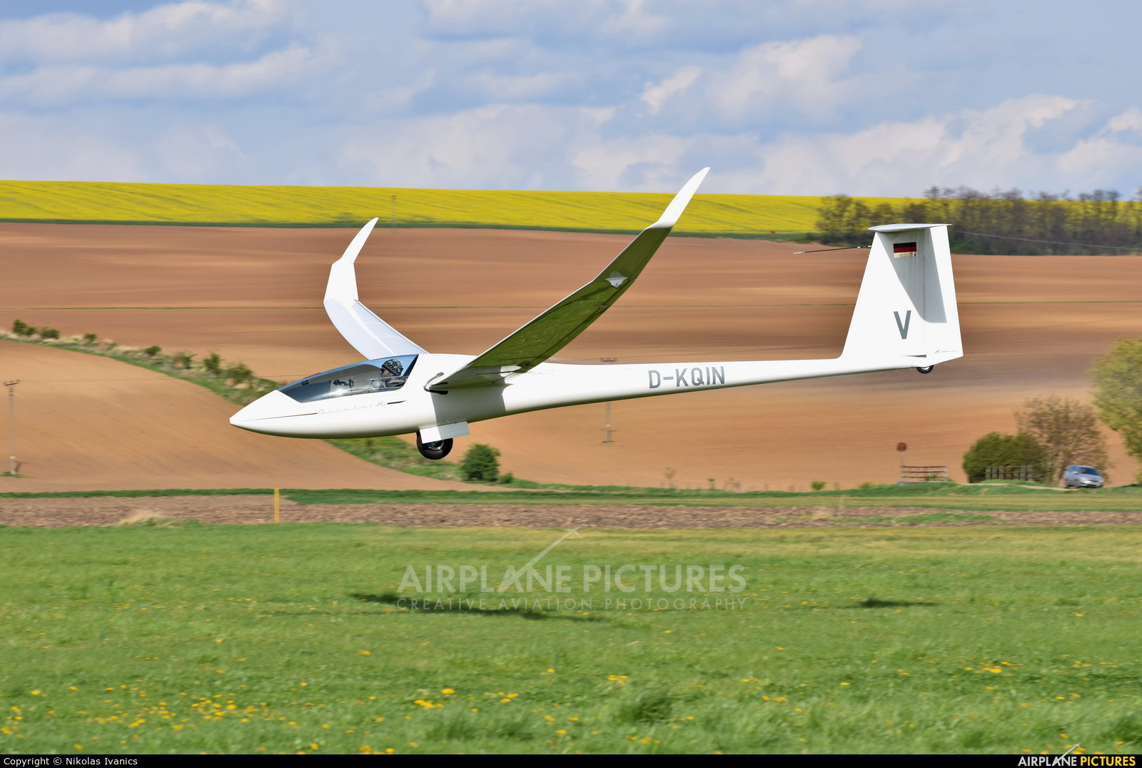 Private D-KQIN aircraft at Nitra