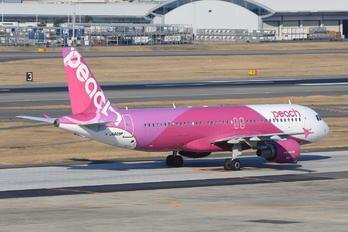 JA809P - Peach Aviation Airbus A320