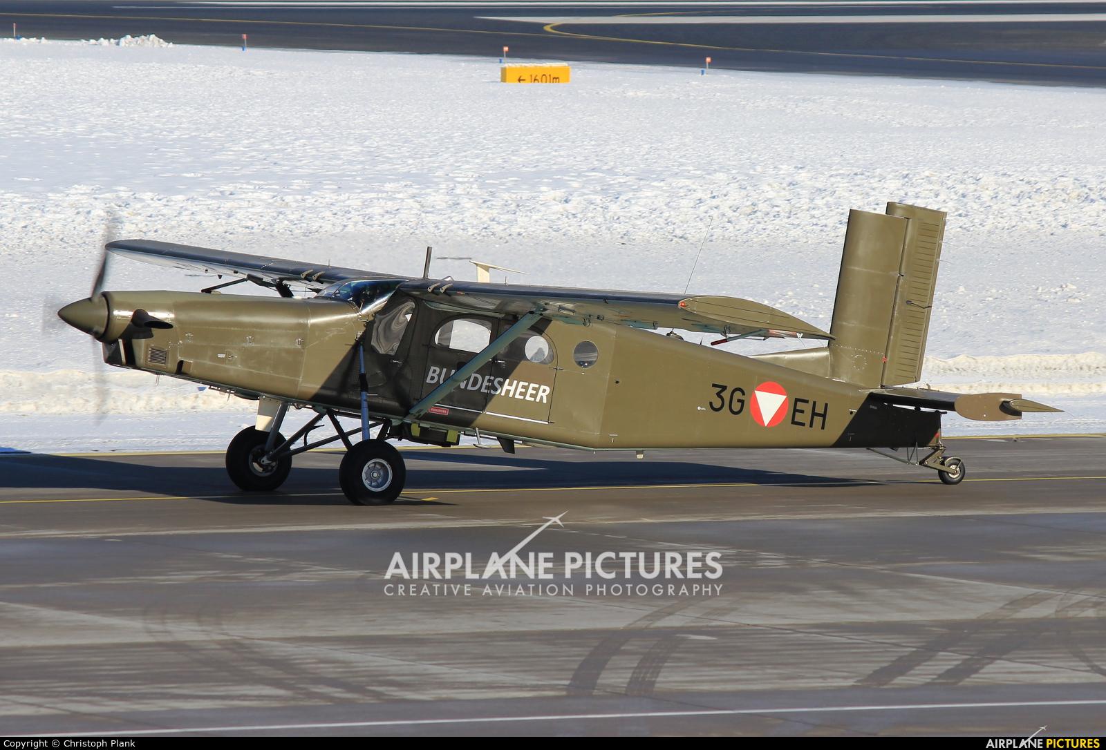 Austria - Air Force 3G-EH aircraft at Innsbruck